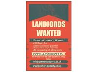 Landlords Wanted!!!