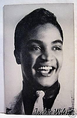- Jackie Wilson Rock N Roll Billboard Music Vending Card