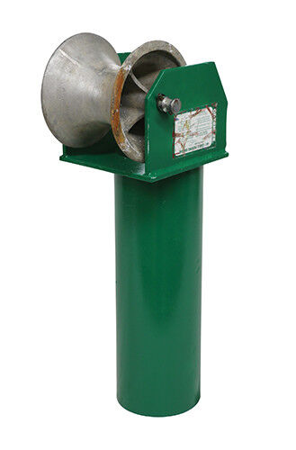 """Greenlee - Sheave, Cable Feeding 5"""" (441-5) - 2"""" Conduit - Electrical"""