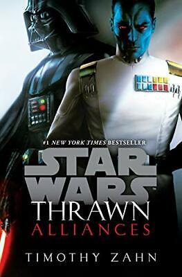 Thrawn: Alliances Star Wars by Timothy Zahn Paperback NEW Book