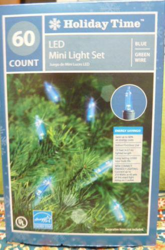 Holiday Time Led Lights Ebay