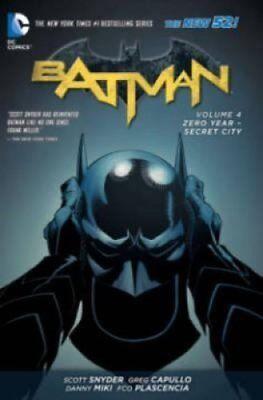 Batman Volume 4: Zero Year - Secret City TP (The New 52) 9781401249335