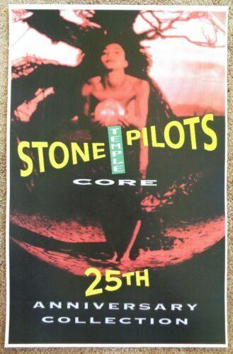 Stone Temple Pilots Core STP Record Album 25th Anniversary Purple 11x17 POSTER