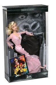 BARBIE IN KING KONG COLLECTOR EDITION DOLL 2002 NEW IN BOX