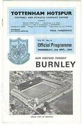 Burnley V Tottenham