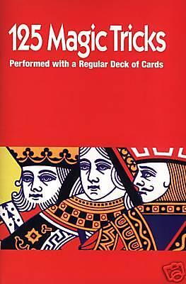 125 Magic Tricks mit einem Kartenspiel ! Magic ! Trick