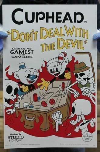Cuphead Craps In Hell Special Edition Don