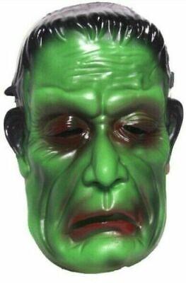 Frankenstein Mask For Kids (Frankenstein Mask Kids Latex Halloween Face Mask Horror Scary Skeleton)