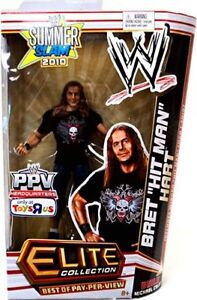 "WWE Elite Collection Bret ""Hit Man"" Hart Action Figure"