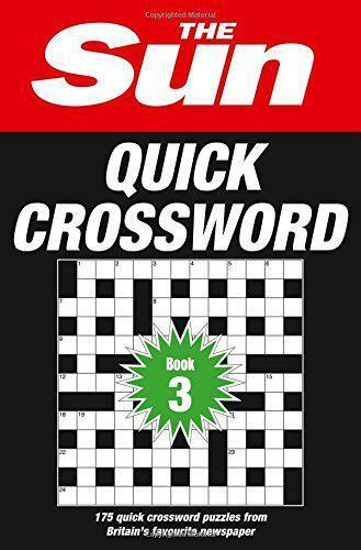The Sun Quick Crossword Book 3, The Sun | Paperback Book | 9780008137274 | NEW