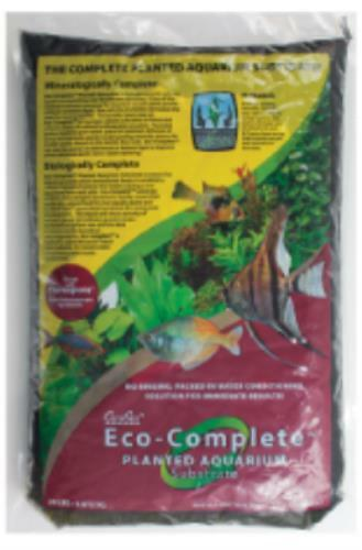 CaribSea – ECO COMPLETE PLANTED Freshwater Substrate, Black