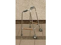 Zimmer walking frame for sale.