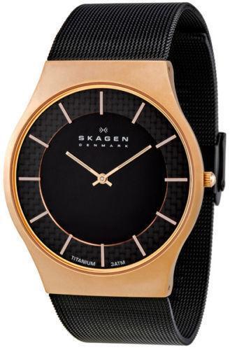 Skagen Denmark Mens Titanium Watch Ebay