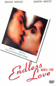 Endless Love (1981) New Sealed DVD Brooke Shields