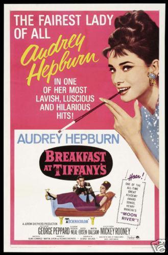 breakfast at tiffanys poster   ebay