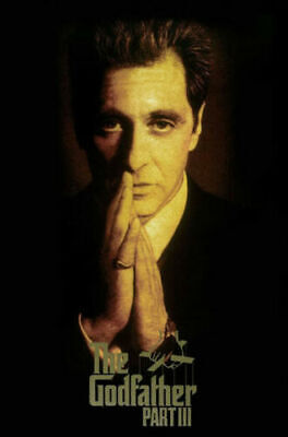 G782 The Godfather Movie Series Marlon Brando Al Pacino Poster Silk Art Print