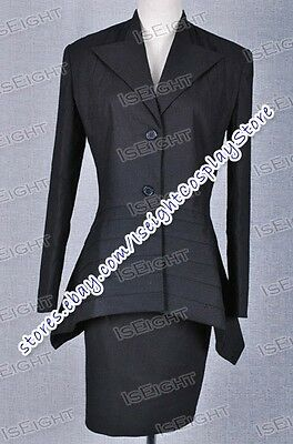 Who Purchase The Doctor Dr Black Dress Suit Halloween Great Made Cosplay Costume](Purchase Cosplay Costumes)