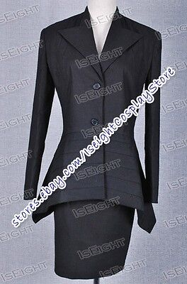 Who Purchase The Doctor Dr Black Dress Suit Halloween Great Made Cosplay Costume](Purchase Costumes)