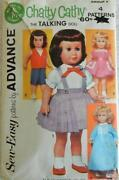 Vintage Doll Clothes Patterns Lots
