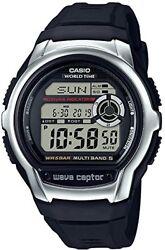 New CASIO Watch Wave Septar Radio Clock WV-M60-1AJF Waterproof Men's from JPN