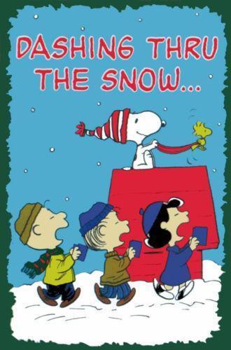 Snoopy Christmas Flag Ebay