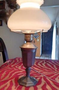 Antique Hurricane Lamps
