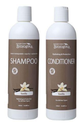 Biologika Vanilla Shampoo & Conditioner  2 x 500 mL