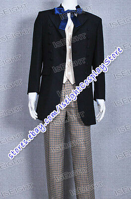 Who Buy Dr 1st The First Doctor William Hartnell Suit Cosplay Costume Halloween](Hartnell Halloween Costume)
