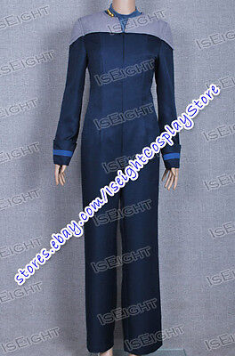 Star Trek Next Generation Halloween Costume (Star Trek Uniform The Next Generation Cosplay Deanna Troi Costume Halloween)