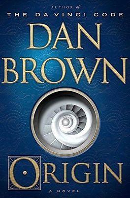 Origin  A Novel By Dan Brown   Hardcover