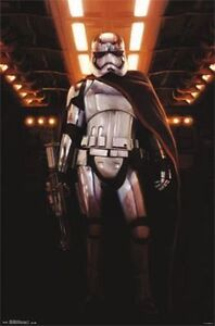 NEW Star Wars The Force Awakens Captain Phasma Chrome Poster London Ontario image 1