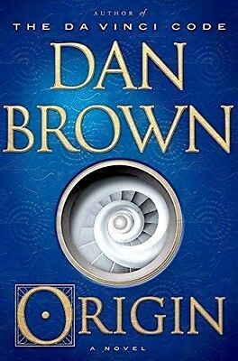 Origin  A Novel By By Dan Brown  Hardcover   Technothrillers  Free Shipping New