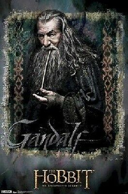 LORD OF THE RINGS THE HOBBIT GANDALF POSTER PRINT NEW 22x34 FREE SHIP
