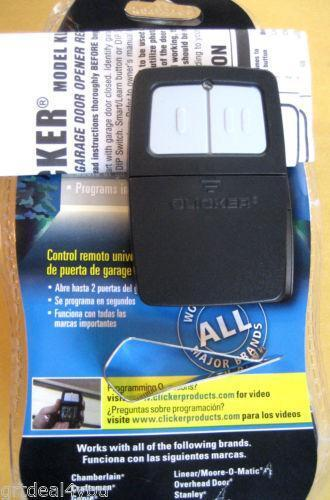 Chamberlain Clicker Remotes Amp Transmitters Ebay