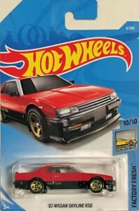 HOT WHEELS '82 NISSAN SKYLINE R30 JDD41 RED