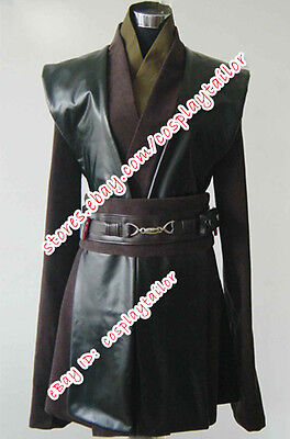 Star Wars Anakin Skywalker Cosplay Costume Outfit Kimino Whole Set High Quality](High Quality Star Wars Costumes)