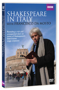 Shakespeare in Italy DVD (2012) Francesco da Mosto ***NEW***
