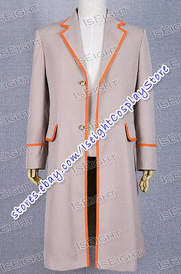 Costume Purchase (Who Purchase This Costume The 5th Doctor Fifth Dr Trench Coat Cosplay)