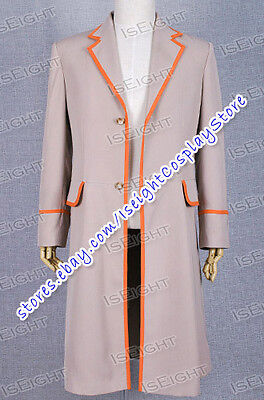 Who Purchase This Costume The 5th Doctor Fifth Dr Trench Coat Cosplay Halloween