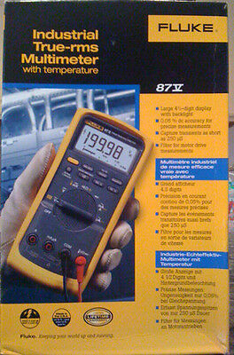 Fluke 87-5 Rms Industrial Multimeter