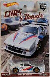 Hot Wheels Car Culture: Cars & Donuts - BMW M1 Procar DWH86 1:64