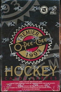1992 93 OPC PREMIER ...... hockey cards ...... unopened box