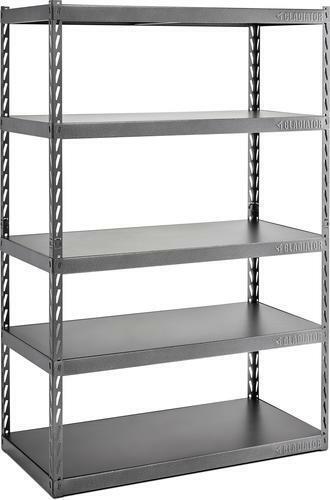 Gladiator 72 in. H x 48 in. W x 24 in. D 5-Shelf Steel Garage Shelving Unit
