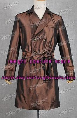 Watchman Cosplay Rorschach Costume Trench Coat Brown Jacket Halloween Outfits - Rorschach Outfit
