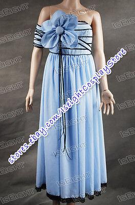 Alice In Wonderland Costume Alice Blue Flower Dress Elegant Cosplay Costume - Alice In Wonderland Flower Costume