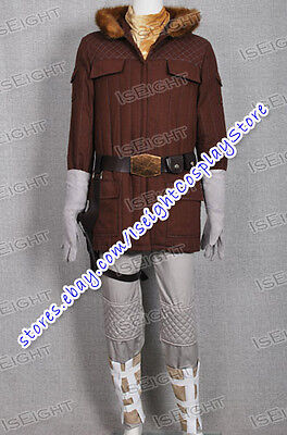 Star Wars Han Solo In Hoth Gear Costume Outfit Cool Uniform Set Tailor Made Best