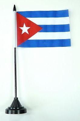 Fahne / Tischflagge Kuba NEU 11 x 16 cm Flaggen