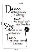 Wall Stickers Sayings