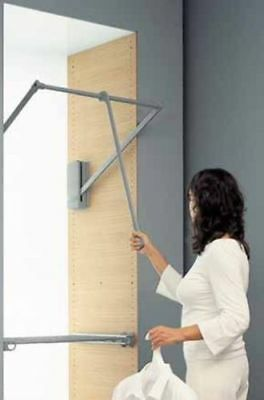Servetto Pull Down Closet/Clothing Rail/Rod - RRP $400