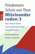 Miteinander Reden Schulz Von Thun